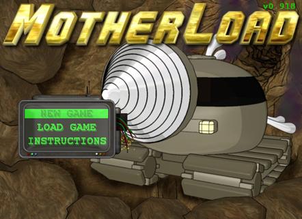 Navigate To A Gas Station >> XGen Studios - Online Games - Motherload Goldium